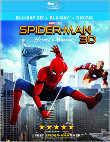 Spider-Man: Homecoming (Blu-ray 3D)
