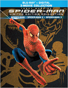 Spider-Man: Limited Edition Collection (Blu-ray Disc)