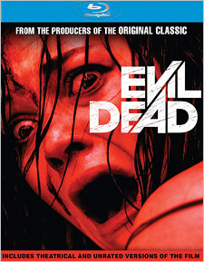 Evil Dead: Unrated (Blu-ray Disc)