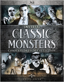 Universal Classic Monsters: Complete 30-Film Collection (Blu-ray Disc)