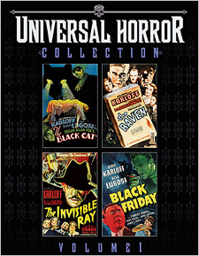 Universal Horror Collection: Volume 1 (Blu-ray Disc)