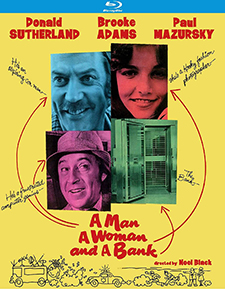A Man, a Woman, and a Bank (Blu-ray Disc)