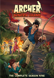 Archer: Danger Island (DVD Disc)