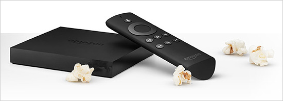 Amazon FireTV streaming media set-top box ($99)