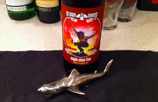 Bruce vs. Clown Shows Imperial Amber Ale: Eagle Claw Fist
