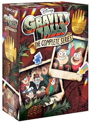 Gravity Falls: The Complete Series (Blu-ray Disc)
