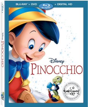 Pinocchio: Walt Disney Signature Collection Blu-ray