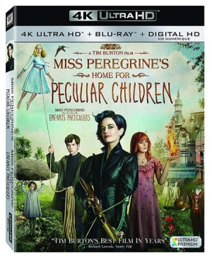 Miss Peregrine's Home for Peculiar Children (4K UHD Blu-ray)