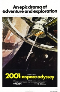 2001: A Space Odyssey one sheet