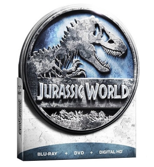 Jurassic World Limited Edition Tin packaging