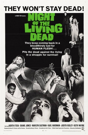 Night of the Living Dead one sheet