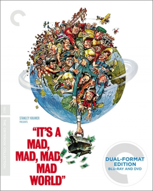It's a Mad Mad Mad Mad World on Blu-ray