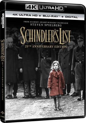 Schindler's List: 25th Anniversary Edition (4K Ultra HD)