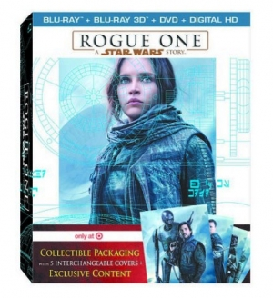 Rogue One: A Star Wars Story (Target exclusive Blu-ray Disc)