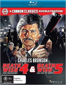 Death Wish 4 & 5: Cannon Classics Double Feature (Blu-ray Review)