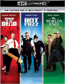 Three Flavours Cornetto Trilogy (4K UHD Review)