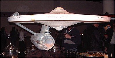 Another angle of the Enterprise