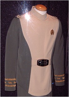 Kirk's uniform from the film