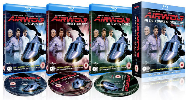 Airwolf: The Complete Series (Region B UK Blu-ray)