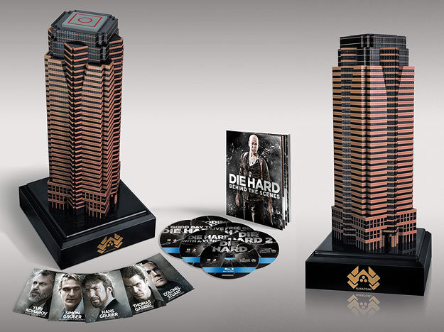 Nakatomi Plaza: The Die Hard Collection (Blu-ray Disc)