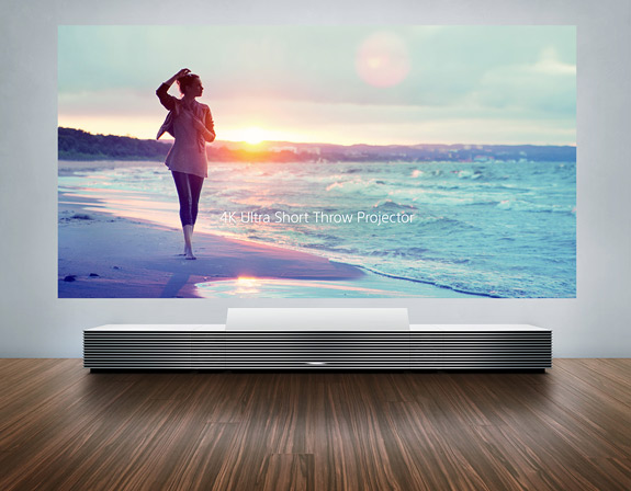 Sony's 4K Ultra Short Throw Projector