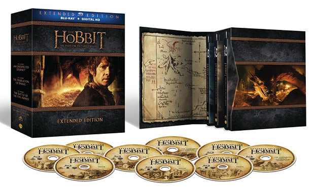 The Hobbit Trilogy: Extended Edition (Blu-ray Disc)