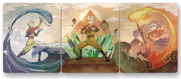 Avatar: The Last Airbender Steelbooks (Blu-ray Disc)
