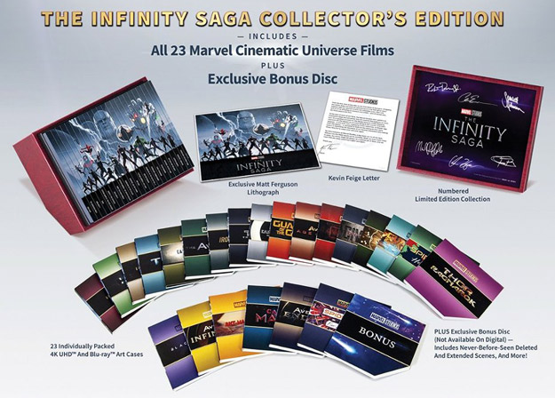 Marvel's The Infinity Saga Collector's Edition (BD/4K Best Buy Exclusive)