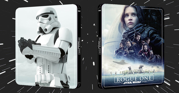 Rogue One: A Star Wars Story (Zavvi exclusive 4K Steelbook)