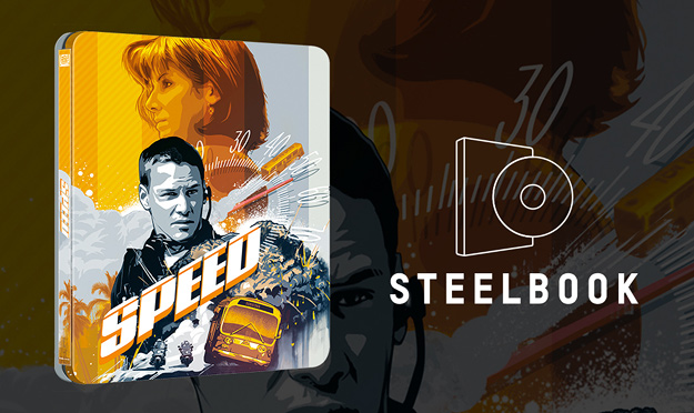 Speed (Zavvi exclusive Steelbook 4K Ultra HD)