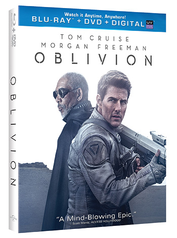 Universal's Oblivion on Blu-ray Disc