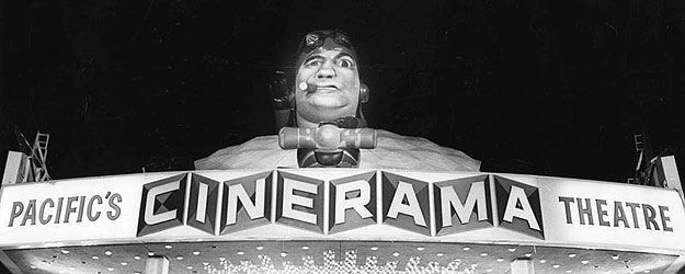 1941 premiere at the Cinerama Dome