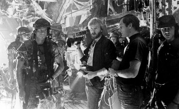 On the set of Aliens