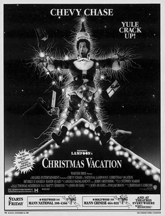 Christmas Vacation newspaper ad