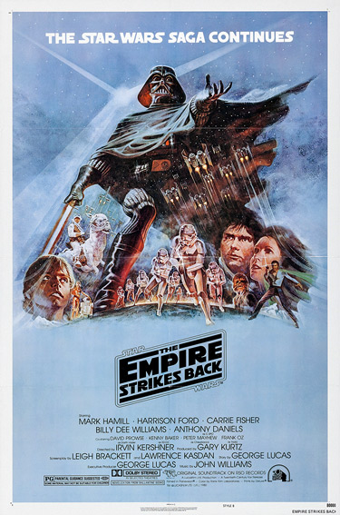 The Empire Strikes Back - poster