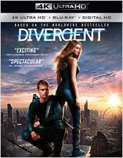 Divergent (4K Ultra HD Blu-ray)