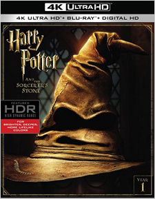 Harry Potter and the Sorcerer's Stone (4K Ultra HD Blu-ray)