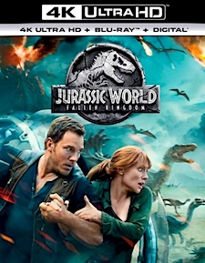 Jurassic World: Fallen Kingdom (4K Ultra HD Blu-ray)