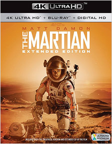 The Martian: Extended Edition (4K UHD Blu-ray)