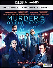 Murder on the Orient Express (4K Ultra HD Blu-ray)