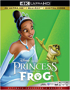 The Princess and the Frog (4K Ultra HD)