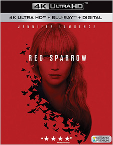 Red Sparrow (4K Ultra HD Blu-ray)