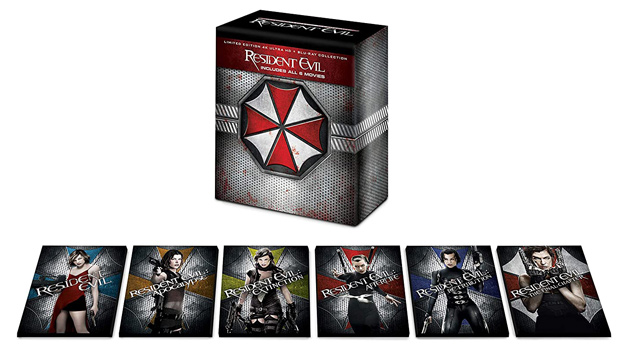 Resident Evil 4K Ultra HD Limited Edition Collection