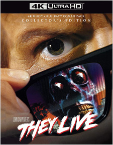They Live: Collector's Edition (4K Ultra HD)