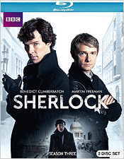 Sherlock: Season Three (Blu-ray Disc)