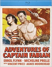 The Adventures of Captain Fabian (Blu-ray Disc)