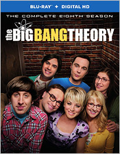 The Big Bang Theory: Season 8 (Blu-ray Disc)