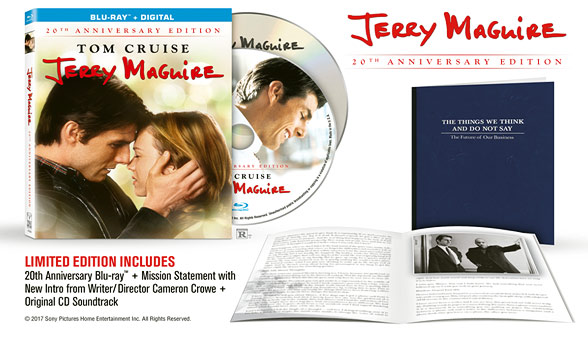Jerry Maguire: 20th Anniversary Edition (Blu-ray Disc)