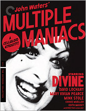 Multiple Maniacs (Criterion Blu-ray Disc)