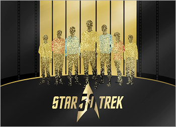 Star Trek: 50th Anniversary TV and Movie Collection (Blu-ray Disc)